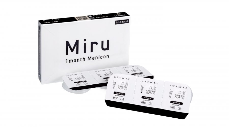 Visuel 3 - Miru 1month  Menicon Multifocal